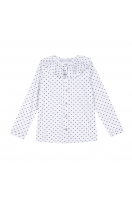 Blouse - blanche Hugo Balzac Paris x Tartine et Chocolat